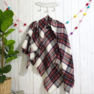 Apt. 9 plaid oversized blanket scarf